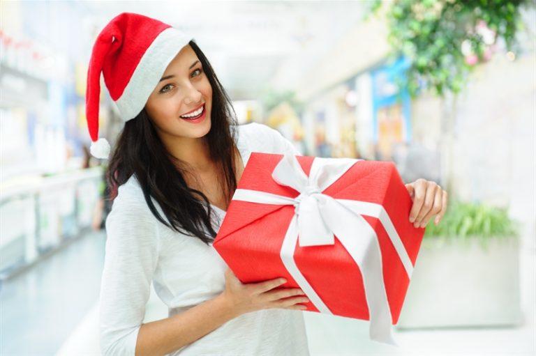 Девушка с подарком картинки 42